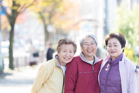 面向活跃中老年层人们的商品